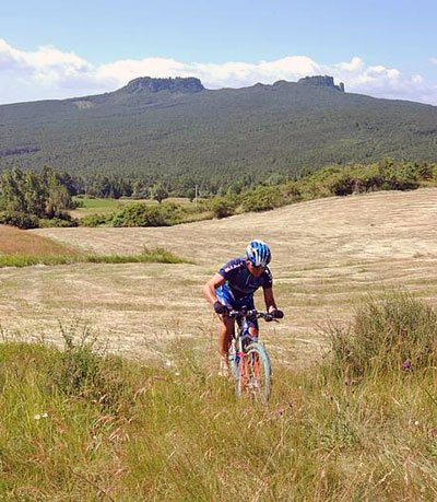 Montefeltro in Mountainbike
