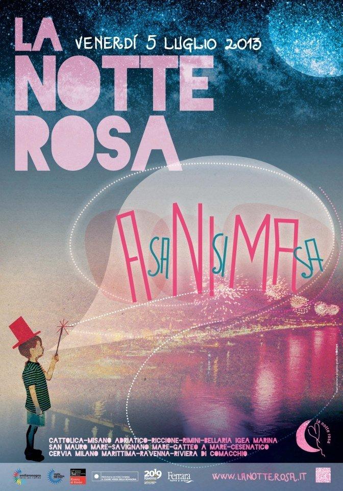 La Notte Rosa 2013