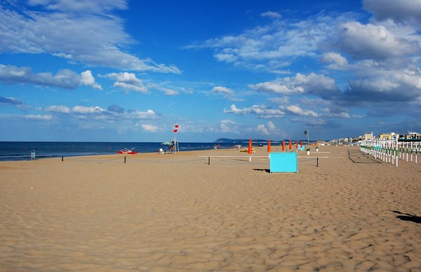 Spiagge libere a riccione spiagge economiche e gratis a - Web cam riccione bagno 81 ...