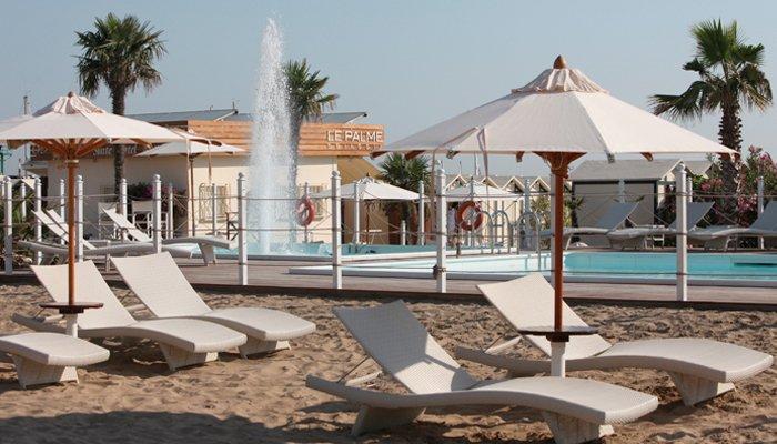 Spiaggia Riccione per il relax
