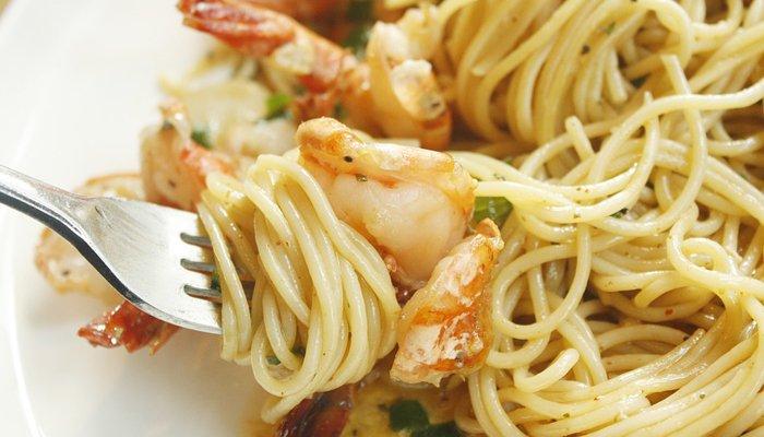 spaghetti con il pesce nei ristoranti Riccione