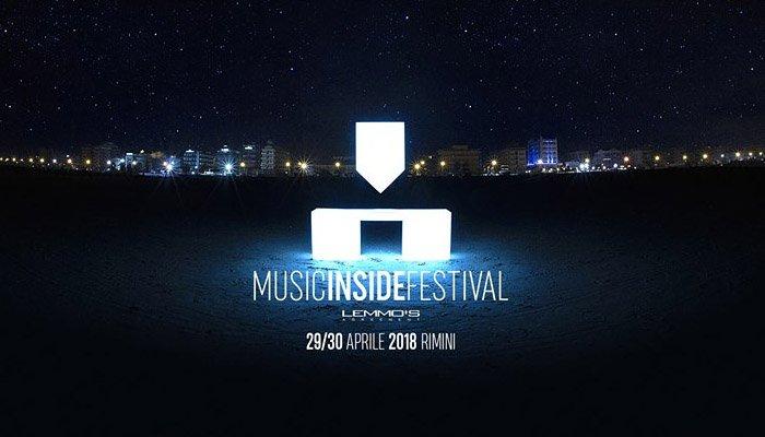 Music Inside Festival: la locandina