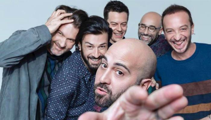Negramaro a Rimini: una foto della band