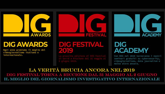 Locandina di Dig Festival 2019