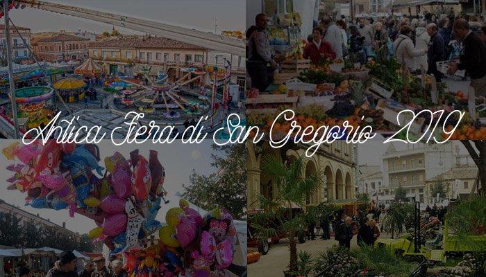 Alcune foto delle scorse edizioni della Fiera di San Gregorio