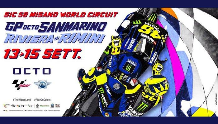Moto GP 2019 al Simoncelli Misano World Circuit